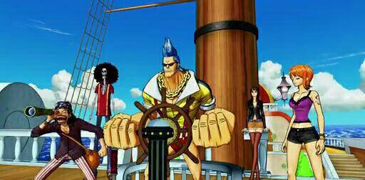 Equipage du Chapeau de Paille - Film 11, One Piece 3D Mugiwara Chase (A la poursuite du Chapeau de Paille)
