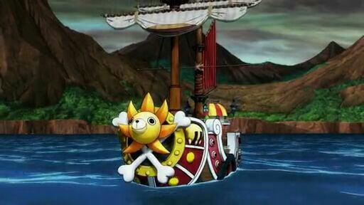 Nico Robin, Franky, Brook & Thousand Sunny - Film 11, One Piece 3D Mugiwara Chase (A la poursuite du Chapeau de Paille)