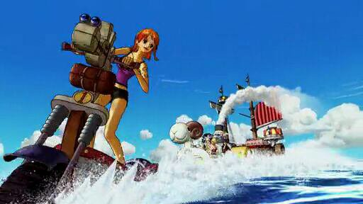 Nami - Film 11, One Piece 3D Mugiwara Chase (A la poursuite du Chapeau de Paille)