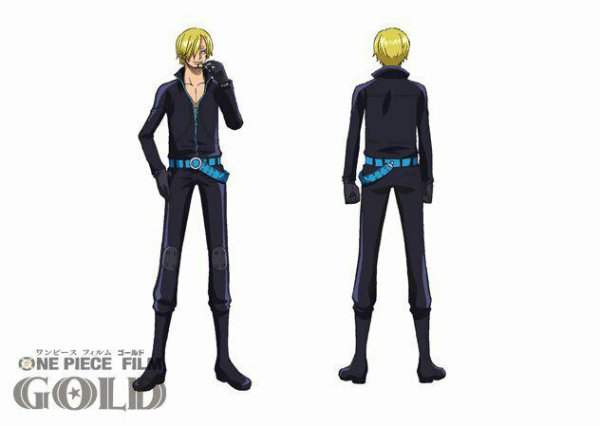 Tenues de Roronoa Zoro & Sanji pour le film One Piece Gold