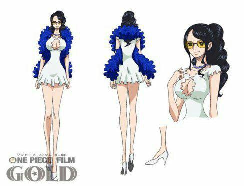 Tenues de Nami & Nico Robin pour le film One Piece Gold