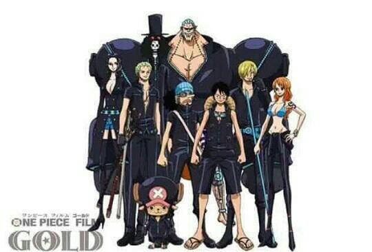 Tenues de l'équipage du Chapeau de Paille pour le film One Piece Gold