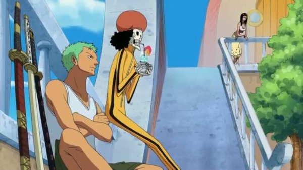 Nami, Usopp, Chopper, Nico Robin & Brook - Arc Ile Spa