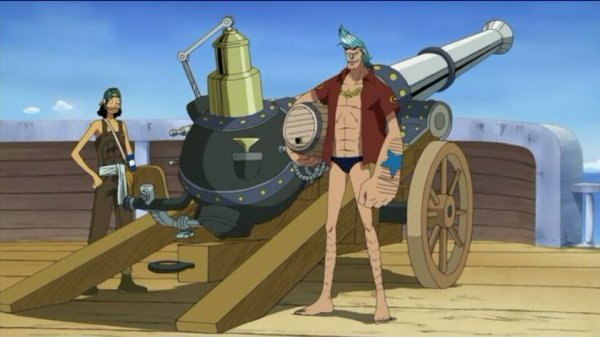 Monkey D. Luffy, Roronoa Zoro, Usopp, Chopper, Franky & Brook - Arc Ile Spa