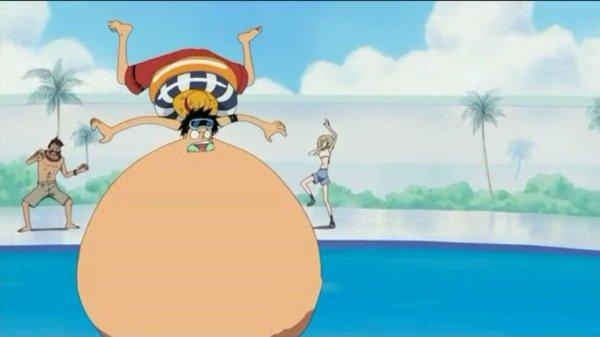 Monkey D. Luffy - Arc Ile Spa
