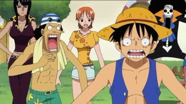 Monkey D. Luffy, Nami, Usopp, Chopper, Nico Robin, Franky & Brook - Arc Duval