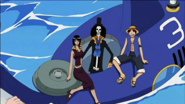 Monkey D. Luffy, Nami, Usopp, Chopper, Nico Robin, Franky & Brook - Arc Duval