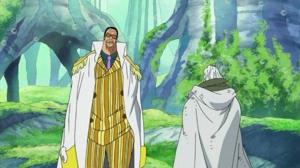 Borsalino Kizaru vs Silvers Rayleigh - Arc Archipel Sabaody