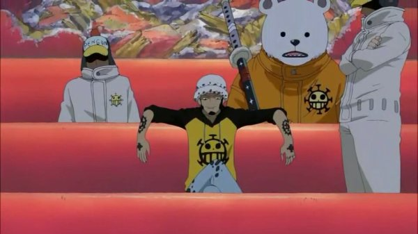 Trafalgar Law, Bepo, Penguin, Shachi & Jean Bart - Arc Archipel Sabaody