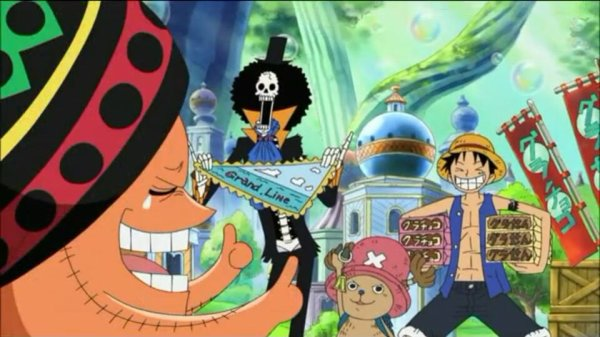 Octo, Keimi & Pappug + Monkey D. Luffy, Nami, Chopper, Nico Robin & Brook - Arc Archipel Sabaody