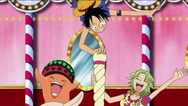 Octo, Keimi & Pappug + Monkey D. Luffy, Chopper & Brook - Arc Archipel Sabaody