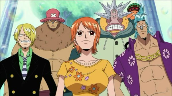 Octo & Pappug + Monkey D. Luffy, Nami, Sanji, Chopper & Franky - Arc Archipel Sabaody