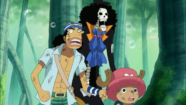 Nami, Usopp, Chopper, Nico Robin & Brook - Arc Archipel Sabaody