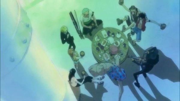 Equipage du Chapeau de Paille (Pensées de Nico Robin & Monkey D. Luffy) - Arc Archipel Sabaody