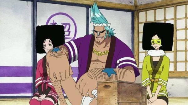 Kiwi & Mozu + Franky - Episodes 406 & 407, Le retour du Boss Luffy