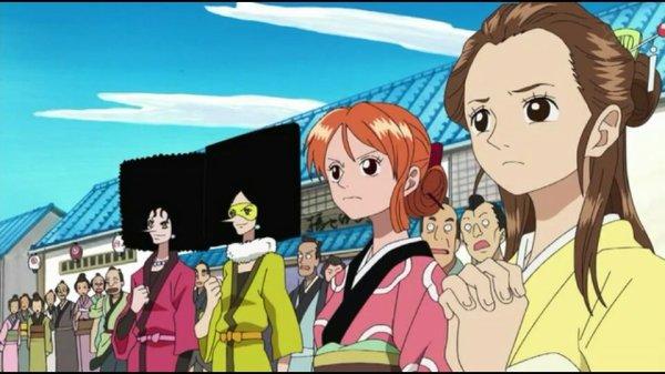 Kiwi & Mozu + Usopp, Nami, Mao & Franky - Episodes fillers 406 & 407, Le retour du Boss Luffy