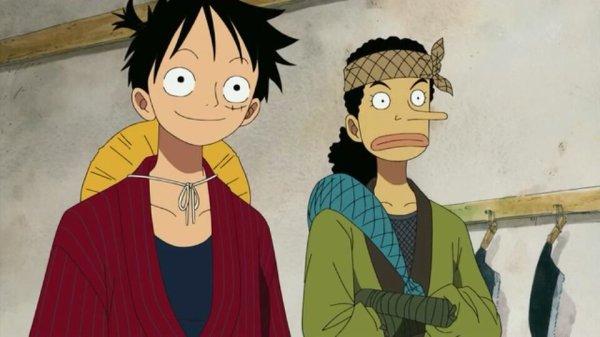 Monkey D. Luffy, Nami, Usopp, Chopper, Brook & Mao - Episodes fillers 406 & 407, Le retour du Boss Luffy