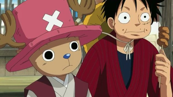 Monkey D. Luffy, Nami, Usopp, Sanji, Chopper, Franky, Brook & Mao - Episodes fillers 406 & 407, Le retour du Boss Luffy