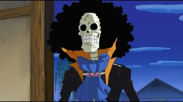 Brook - Episodes fillers 406 & 407, Le retour du Boss Luffy