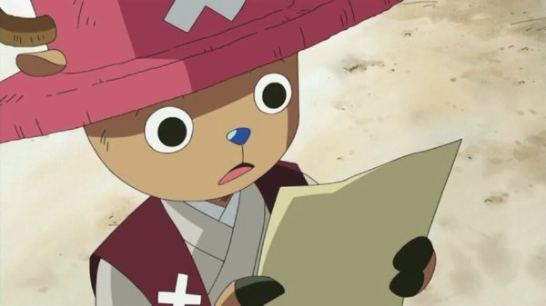 Chopper - Episodes fillers 406 & 407, Le retour du Boss Luffy