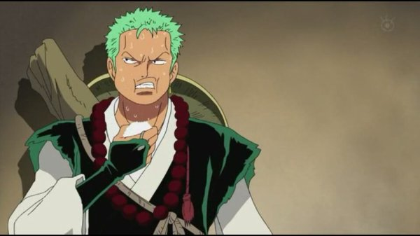Roronoa Zoro - Episodes fillers 406 & 407, Le retour du Boss Luffy
