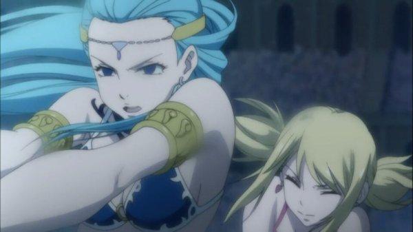 Aquarius & Lucy Heartfilia - Arc Grand Tournoi des jeux inter-magiques