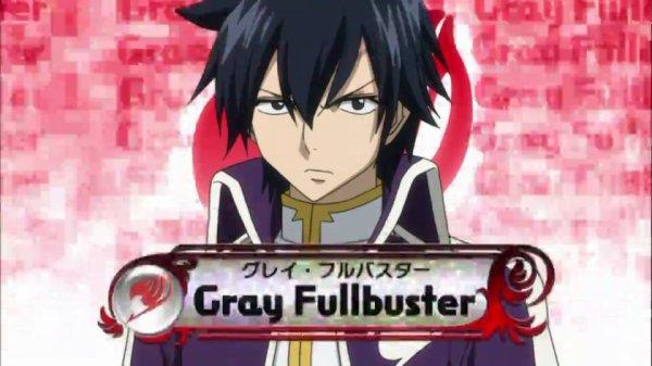 Grey Fullbuster - Arc Grand Tournoi des jeux inter-magiques