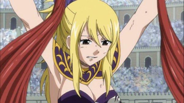 Lucy Heartfilia - Arc Grand Tournoi des jeux inter-magiques