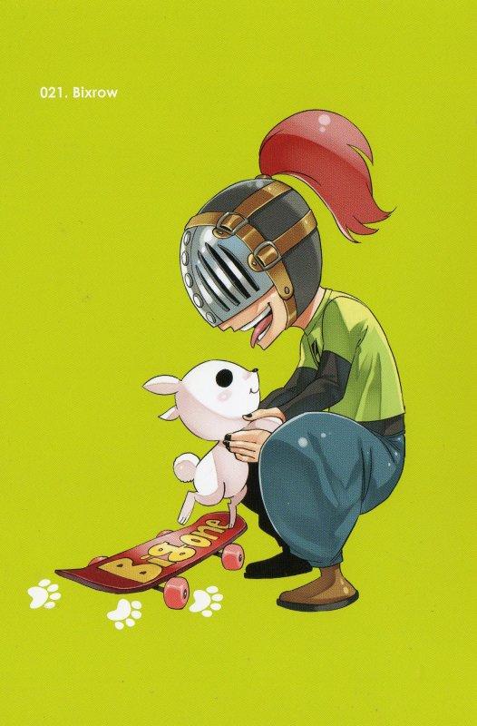 Les 50 cartes postales offertent avec l'édition limitée du tome 50 de fairy Tail (5/9)