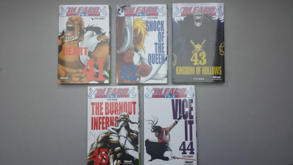 Suite de ma collection One Piece et Bleach