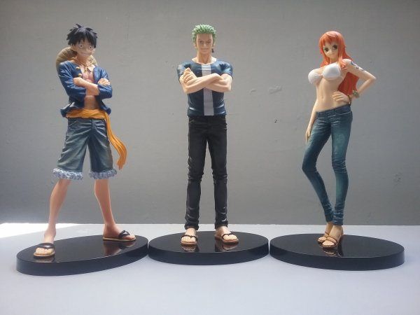 Colis arrivé du Japon (collection One Piece)