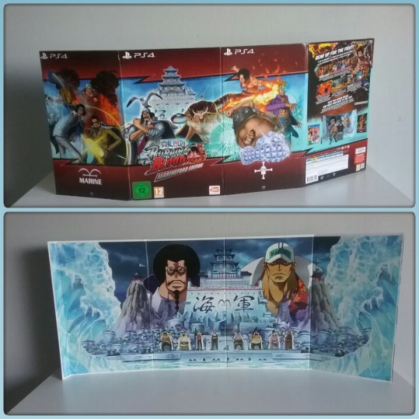 One Piece Burning Blood - Edition Collector (Spécial Marineford)