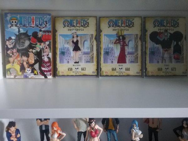 Derniers dvd de Fairy Tail & One Piece achetés