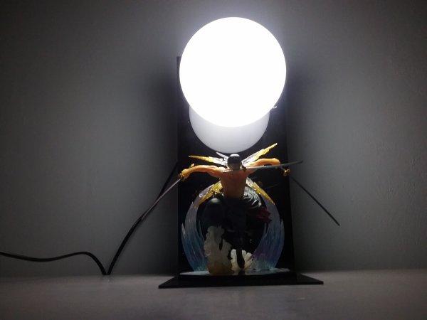 Mes 2 lampes de Portgas D. Ace & Roronoa Zoro