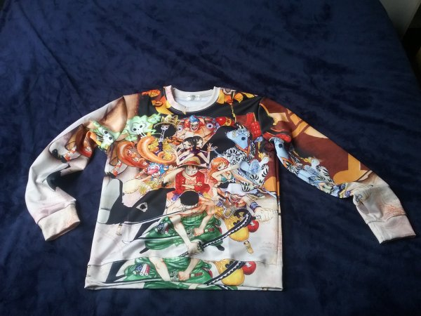 Mes vêtements mangas (One Piece, Fairy Tail, Bleach & Dragon Ball Z)