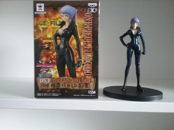 Chopper, Robin, Franky & Carina - Figurines DxF One Piece Film Gold