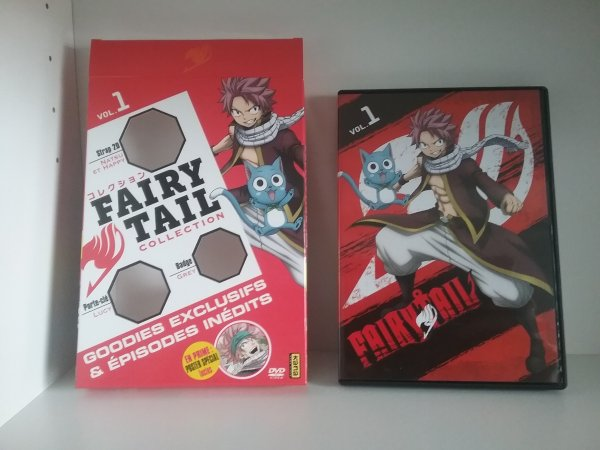 Fairy Tail 54, Fairy Tail Zéro & Fairy Tail+ + Fairy Tail Collection & ses goodies offert par Kana Home Video