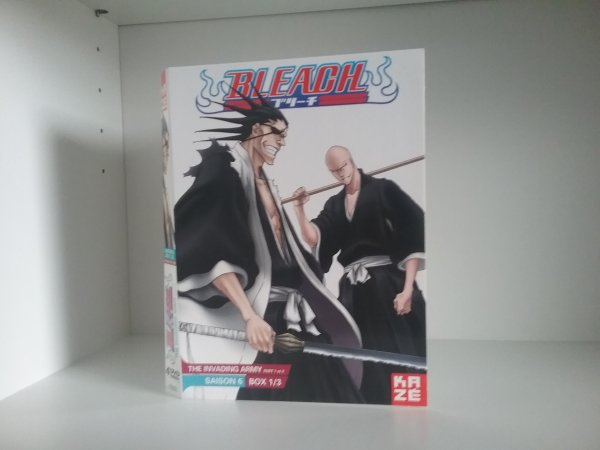 Bleach saison 5 (box 1 à 3) + Bleach saison 6 (box 1)