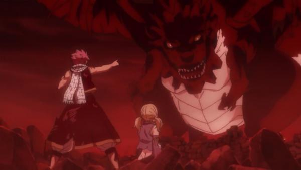 Natsu Dragnir du futur & Lucy Heartfilia du futur - Arc Eclipse (futur détruit par les dragons)