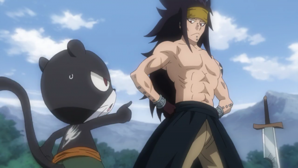 Gajeel Redfox & Panther Lily  (Flashback de Panther Lily) - Arc Eclipse