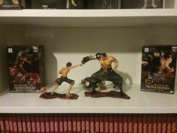 Figurines de Monkey D. Luffy, Z (ou Zetto) & Gildo Tesoro - Collection