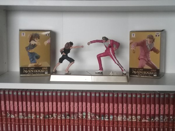 Figurines de Monkey D. Luffy, Z (ou Zetto) & Gildo Tesoro - Collection