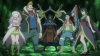 Cosmos, Nepper, Kama, Uosuke (ou Sardean) & kamika (Ordre des Loups Affamés) - Arc Eclipse
