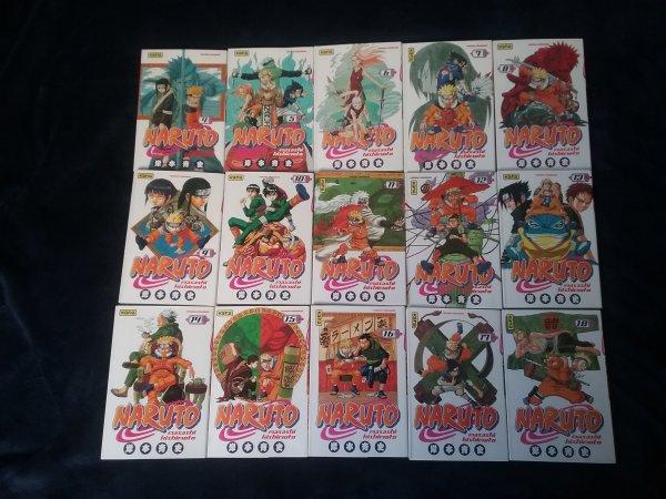 Naruto - Tomes 4 à 72 + chapitre bonus (700+1) introduisant Boruto
