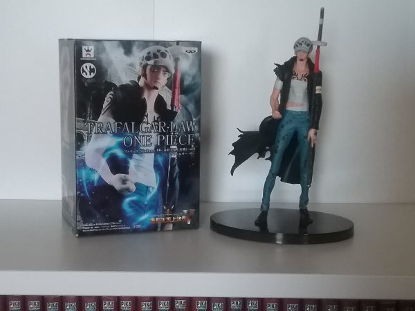 Luffy x Law (Figuarts Zéro, 5ème anniversaire) + Sculture Art de Nami, Lucci & Law - Collection