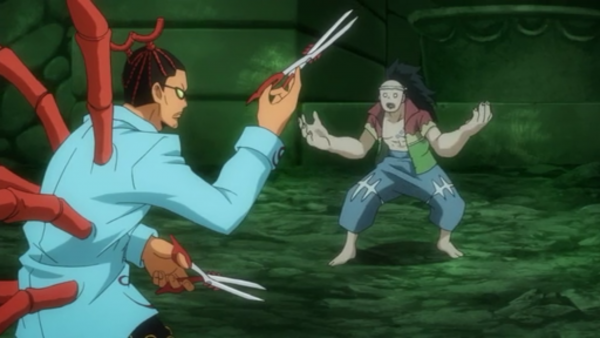 Uosuke vs Lucy Heartfilia, Happy, Yukino Aguria & Esprits Stellaires - Arc Eclipse