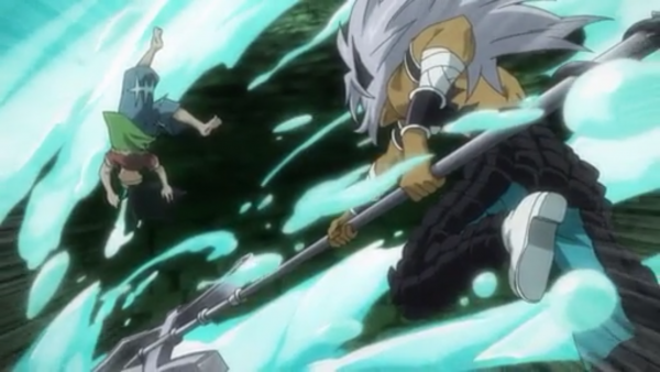 Uosuke vs Cancer, Pisces, Aquarius & Lucy Heartfilia - Arc Eclipse
