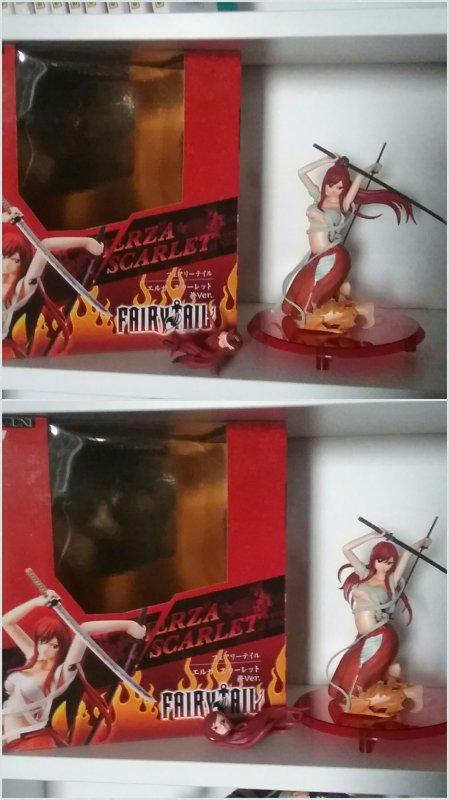 Lucy Heartfilia & Erza Scarlet - Figurines Fairy Tail