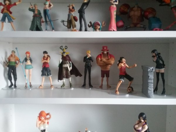 One Piece, Dramatic Showcase 3ème saison (Enies Lobby) - Collection