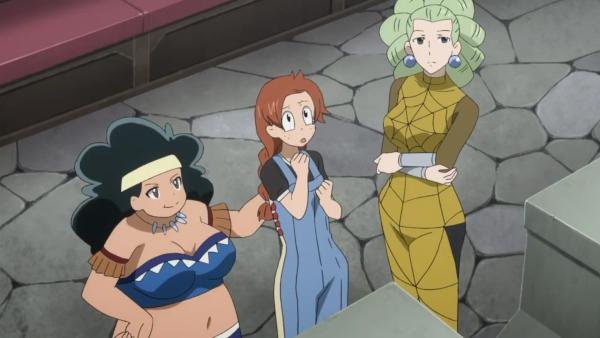 Kagura Mikazuchi, Beth Vanderwood, Miliana, Risley Law & Araña Webb - Arc Eclipse